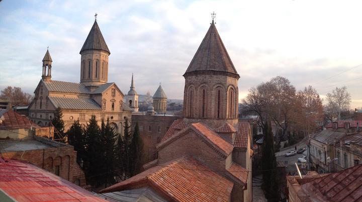 Tbilisi desde los tejados