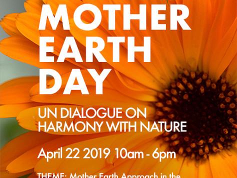 UN Harmony with Nature - Ninth Interactive Dialogue, NYC 22 April 2019
