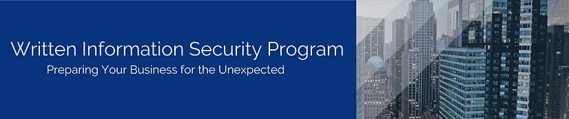 RCG Written Information Security Program