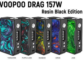 VOOPOO DRAG 157W Resin Black Edition