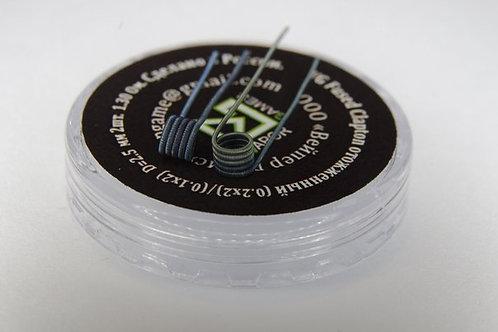 VG FUSED СLAPTON (0.2х2)х(0.1х2) COIL - под СИГАРЕТНИК! 2 шт.