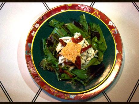 CAMELLIA ESTATE Tiffany's Tearoom Crab Salad