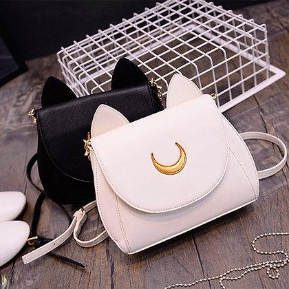 Anime Sailor Moon Shoulder Bags Cosplay Prop Luna Fashion Summer Side Bags