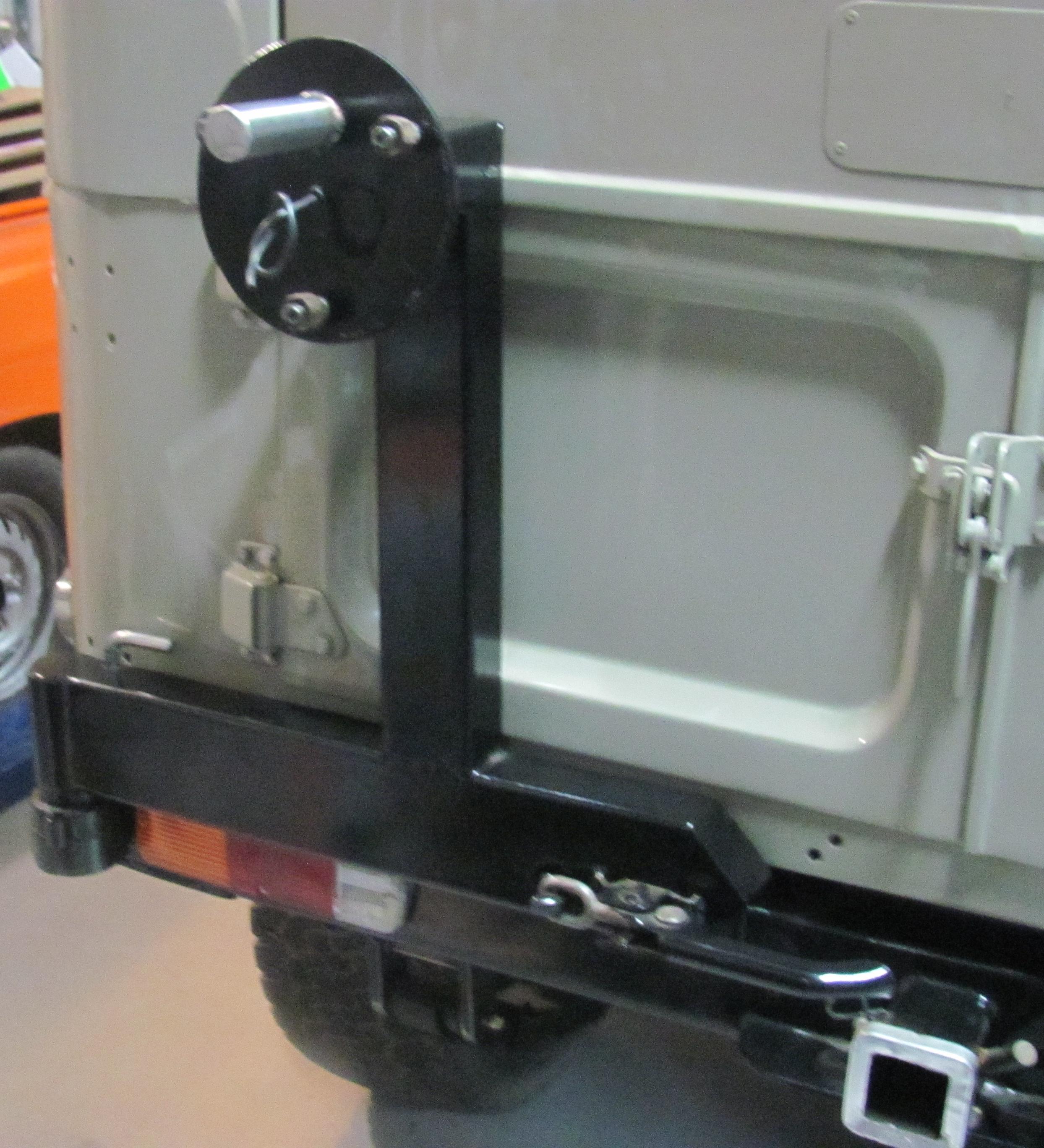 Rear Wheel carrier