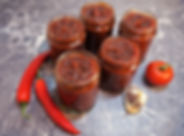 red chilly chutney in bottles.jpg
