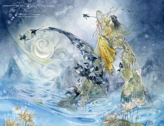 כוכב וגה, מיתולוגיה יפנית, אליס מילר, shantimayi