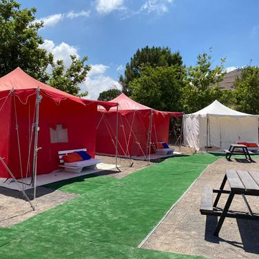האוהלים המונגולים