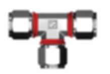 Superlok-i-Fittings-Union-Tee-SUTI-NPT Fittings