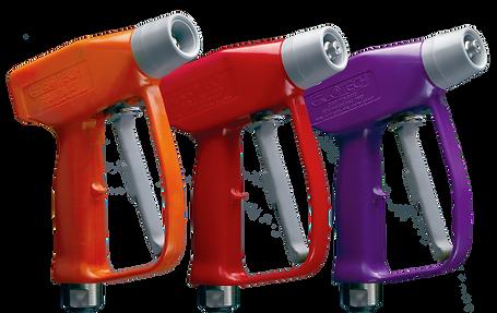 Ergotech, WaterGuns, Spray Nozzles