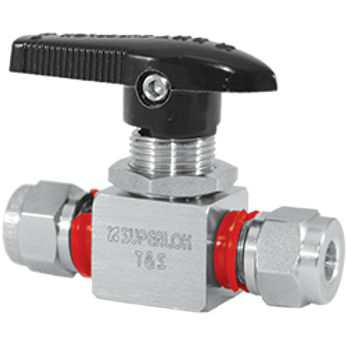 Superlok-i-Fittings Tube-End-Ball-Valve-SBV120H NPT Futtings