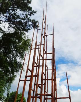 'Ruins' series rust patina