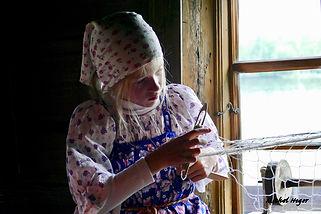 Fille de pêcheur (Russie)