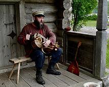 Joueur de vielle (sur la Volga)