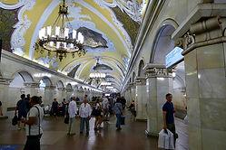 Le metro de Moscou