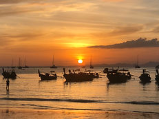 Sunset Thailande