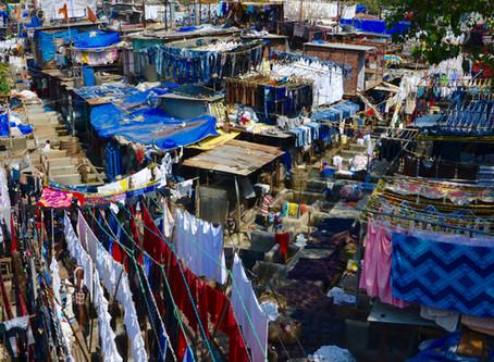 Bombaj: Dhobi Ghat - najväčšia outdoorová práčovňa na svete