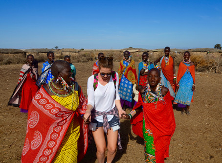 V masajskej Manyatte