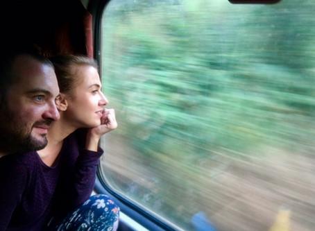 Z Goa do Bombaja vlakom