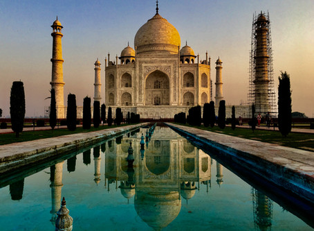 Taj Mahal - monument večnej lásky