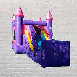 11'x22 Bounce House - Pink & Purple
