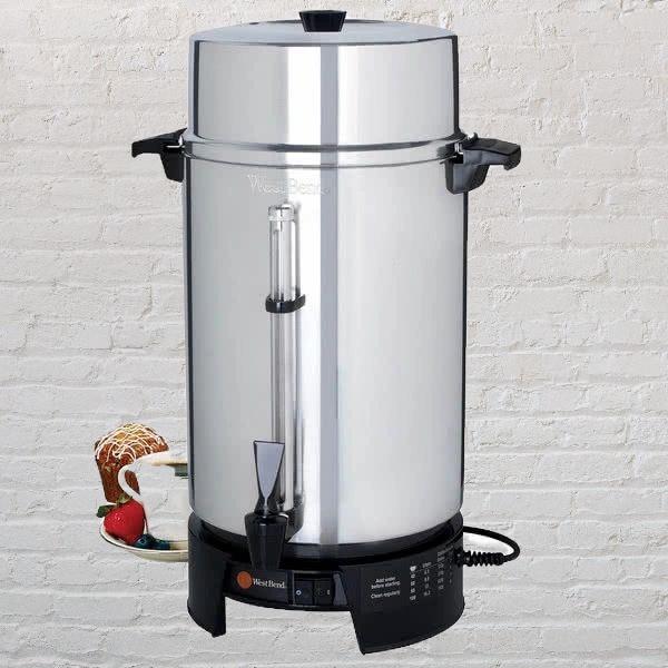100cup coffee urn