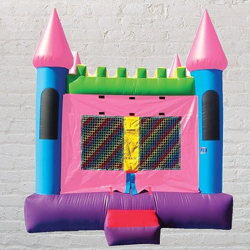 13'x13' Bounce House - Pink & Purple