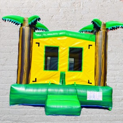13'x13' Bounce House - Tropical Palms