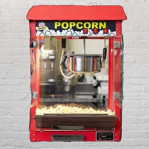 Commercial Popcorn Machine only -Supplies optional