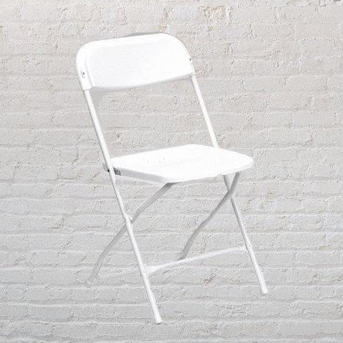Basic Folding Chairs - White