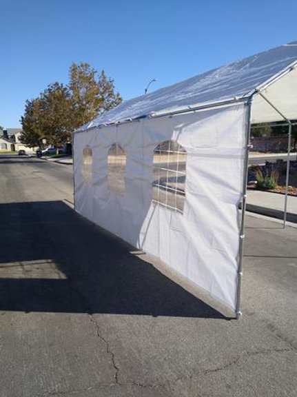 20ft Canopy Side Wall