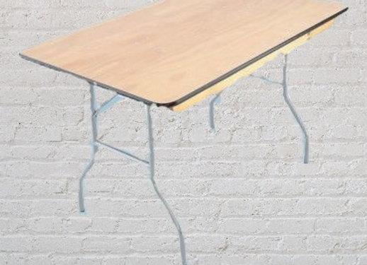 4ft Rectangular tables - Wood