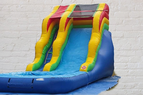 16' Waterslide - Multicolor