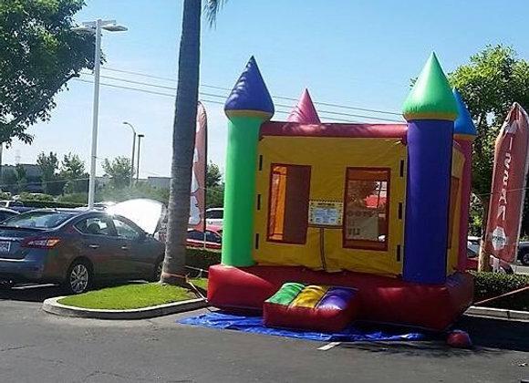 13'x13' Bounce House - Multicolor
