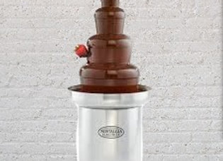Chocolate fountain only