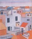 Case romane, 1954, olio s utela, cm 50 x