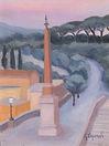 L'obelisco_di_trinità_dei_Monti,_1954,_