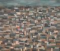 Veduta urbana 4, 1960, olio su tela cm 4