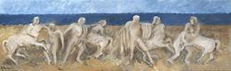Lotta tra Lapiti e Centauri, 2005, olio