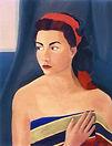 Ritratto di Gigliola, 1951, olio su cart