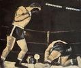 Boxeurs, 1963, olio su tela, cm 60 x 70.