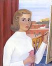 Autoritratto, 1958, olio su tela, cm 70