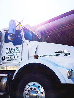 Tinari Container Service Dumpster Roll-Off Truck
