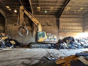 Construction Demolition Recylcing - C.D.R. Trash Transfer Station Machine