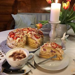 Cafe Finlandia, Erdbeertorte