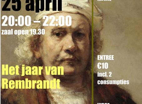 Lezing 'Het jaar van Rembrandt'