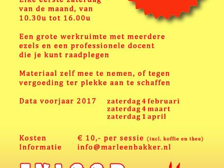 Ook in 2017 inloopatelier in Winsum