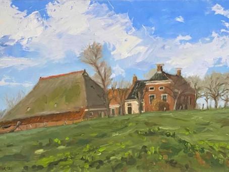 Buiten schilder-workshop