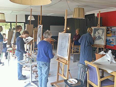 Nieuwe schilderlesgroepen