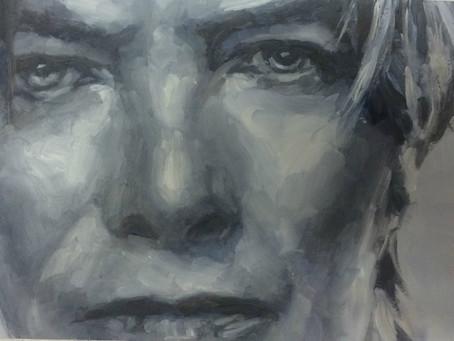 David Bowie in de etalage