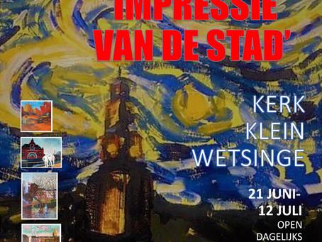 Expositie 'Impressie van de Stad'